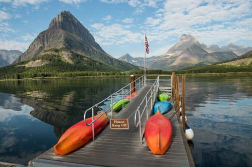Swiftcurrent Lake, Glacier NP, 2013